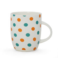 Polka Dots Coffee Mug - @home by Nilkamal, Indigo
