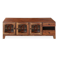 Citrine Low Hight Wall Unit - @home By Nilkamal, Walnut
