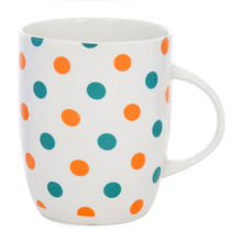 Polka Dots Coffee Mug - @home by Nilkamal, Blue
