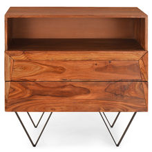 Axial Chest Of 2 Drawer - @home By Nilkamal, Natural