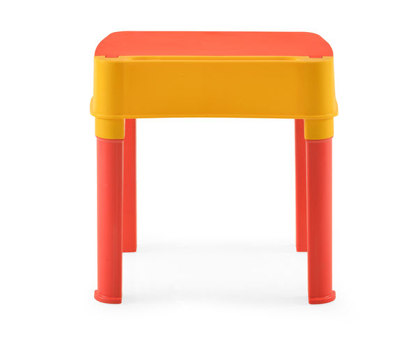 Nilkamal Apple Moulded Baby Desk, Red/Yellow