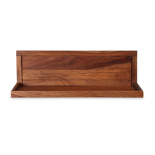 Nimkin 600 Wall Shelf - @home by Nilkamal, Walnut