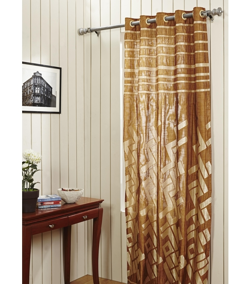 Door Curtain Bricks - @home Nilkamal,  camel