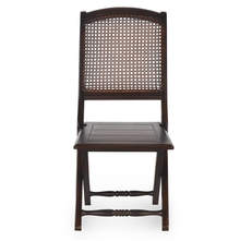 Luisa Folding Chair - @home by Nilkamal, Walnut