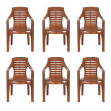 Nilkamal CHR6020 Chair Set of 6 - Mango Wood