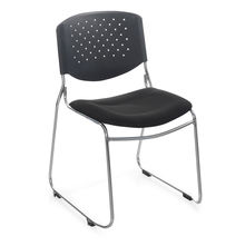 Nilkamal Contract 03 Chair without Arm - Black