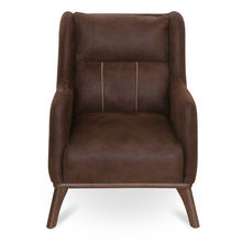 Donald Arm Chair - @home by Nilkamal, Dark Brown
