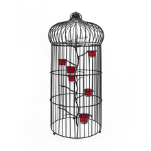 Grand Bird Cage - @home by Nilkamal, Black