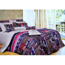 Vivanta Floral Bunch Bed sheet - @home Nilkamal, multi