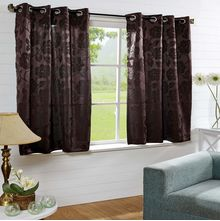 40'x60' Equinox Window Curtain - @home Nilkamal,  brown