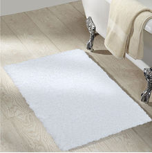 Bathmat Exotica @home Nilkamal,  white