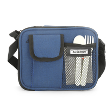 Bergner Executive Lunch Box with Bag Set of 4 - Blue