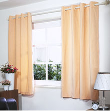 "Moshi 45"" x 60"" Window Curtain Set of 2 - @home by Nilkamal, Peach"