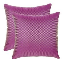16'x16' Glory Set Of 2 Cushion Covers - @home Nilkamal,  purple