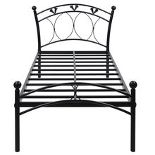 Hydra Single Bed without Storage - @home by Nilkamal, Black