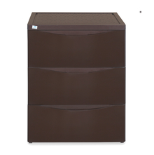 Nilkamal Chester Storage 3 Drawer Series - 43, Weather Brown