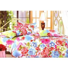 Double Bed sheet Camay Meadow - @home Nilkamal, multi