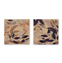 Homely Leaves Picture Frame Set of 2 - @home by Nilkamal, Indigo