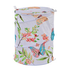 Butterfly Print Laundry Bag - @home By Nilkamal, Teal