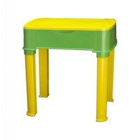 Nilkamal Apple Moulded Baby Desk, Yellow/Green
