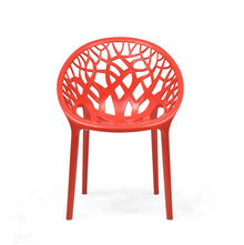 Nilkamal Crystal PP Chair - Bright Red
