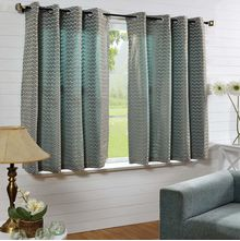 50'x60' Zig Zag Single Window Curtain - @home Nilkamal, multi