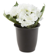 Forest Hydrangea Plant Pot - @home By Nilkamal, White