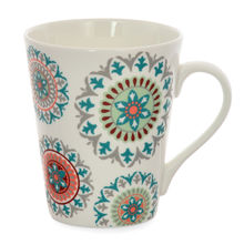 Aroha Suzani Coffee Mug - @home by Nilkamal, Sea Green