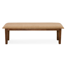 Rays 3 Seater Dining Bench - @home By Nilkamal, Natural