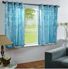 40'x60' Equinox Window Curtain - @home Nilkamal,  aqua