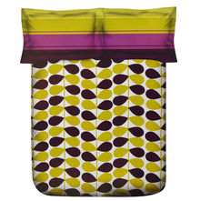 Petals Double Bed Sheet - @home Nilkamal,  green