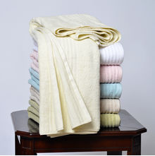 Classicality 90 x 160 cm Bath Towel - @home by Nilkamal, Cream