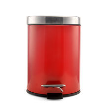 12 Litre Dustbin - @home By Nilkamal, Red