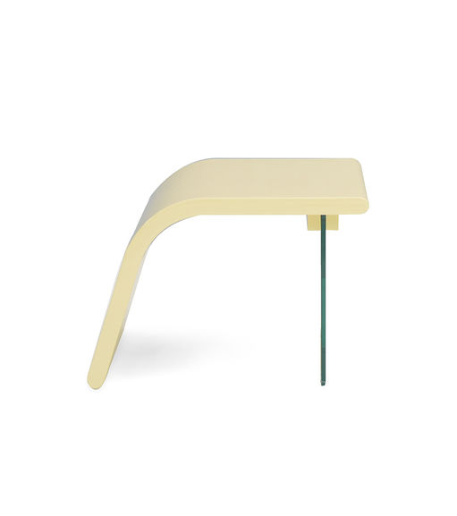 Patric Side Table - @home Nilkamal,  beige