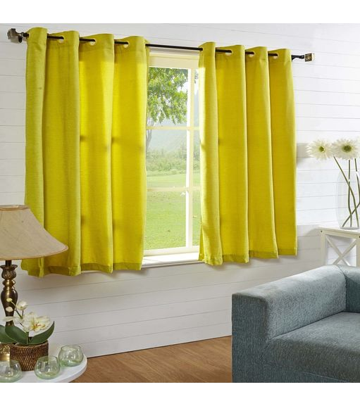 44 x60  Moushi Window Curtain - @home Nilkamal,  green