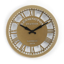 English Wall Clock - @home by Nilkamal, Gold