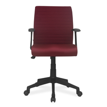 Nilkamal Thames Low Back Fabric Office Chair, Maroon