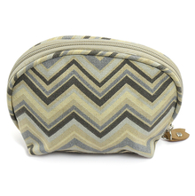 Chevron Cosmetic Bag - @home Nilkamal,  beige