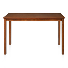 Sutlej 4 Seater Dining Table - @home by Nilkamal, Antique Cherry