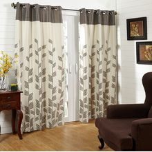 44'x84' Victoria Door Curtain - @home Nilkamal,  brown