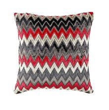 16'x16' Chevron Cushion Cover - @home Nilkamal,  red