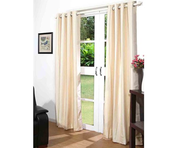 44 x84  Promo Door Curtain Set of 2 - @home By Nilkamal, Assorted