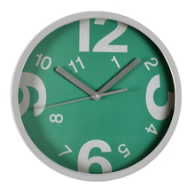 Enchanted Forest Wall Clock - @home by Nilkamal, Sea Green