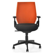Nilkamal Steller MB Office Chair, Orange & Black