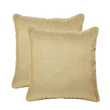 16'x16' Glory Set Of 2 Cushion Covers - @home Nilkamal,  beige