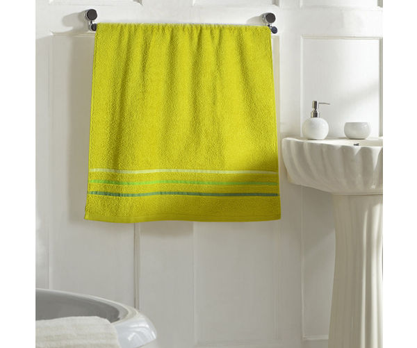 Zerotwist Monarch Shower Towel - @home Nilkamal,  green