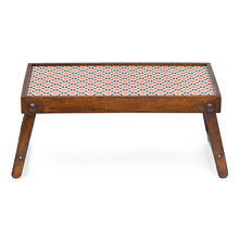 Digi Bed Tray - @home Nilkamal,  brown