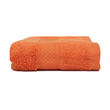 70 cm x 150 cm Shower Towel - @home by Nilkamal, Orange