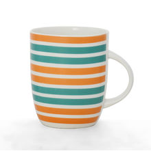 Striped Coffee Mug - @home by Nilkamal, Blue