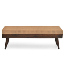 Matrix Dining Bench - @home By Nilkamal, Walnut